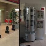 antitaccheggio per negozi di ottica