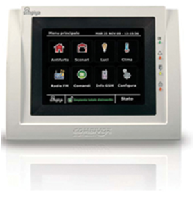Tastiera touch screen Symplya